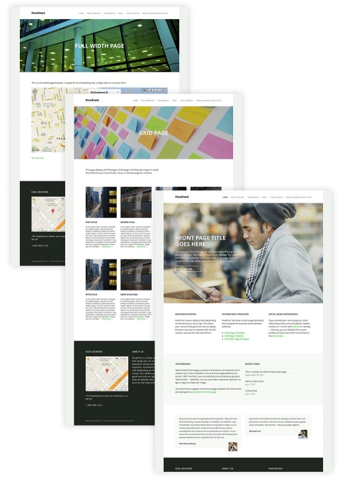 forefront-page-templates